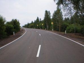 Завершен ремонт автодороги с. Атюрьево - г. Темников на участке км 12+500 - км 16+500 в Атюрьевском муниципальном районе