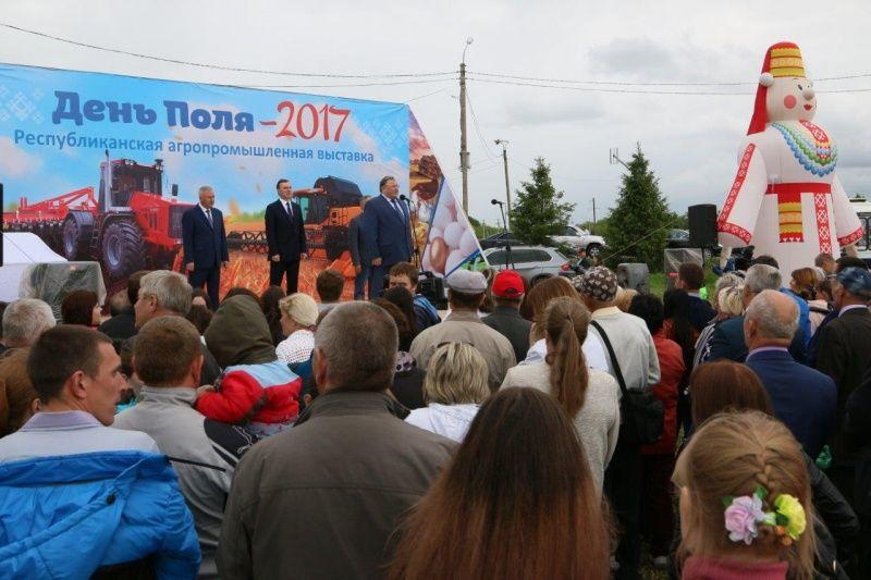 Владимир Волков посетил республиканскую агропромышленную выставку «День поля - 2017»