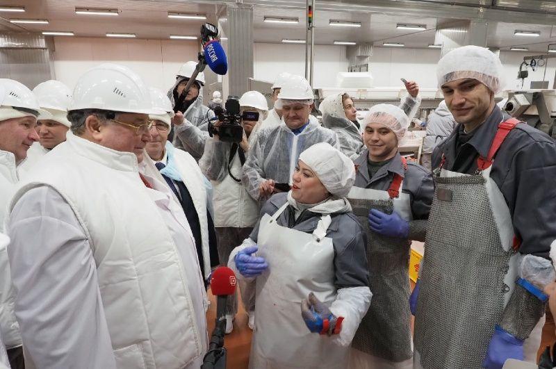 Глава Мордовии Владимир Волков обсудил с жителями Атяшевского района планы по дальнейшему развитию территории