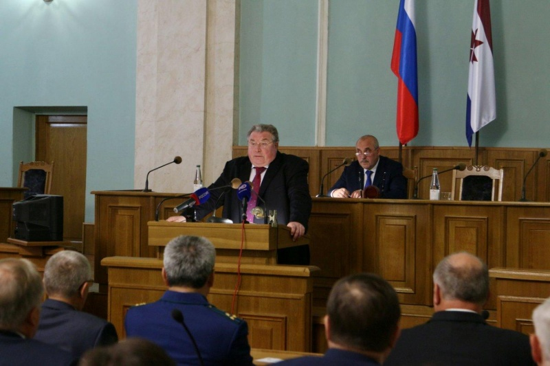 В Саранске   прошла 1 сессия Государственного Собрания Республики Мордовия 6 созыва
