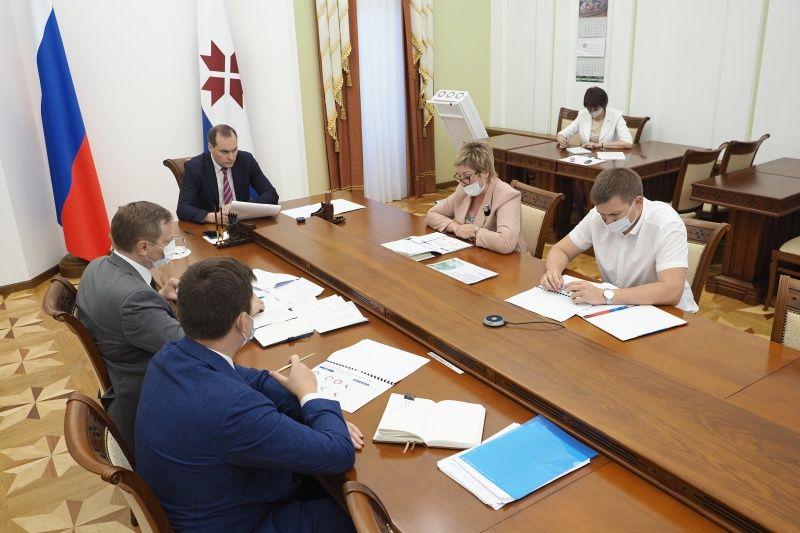 Артём Здунов встретился с руководителем Управления Росреестра Светланой Балесковой