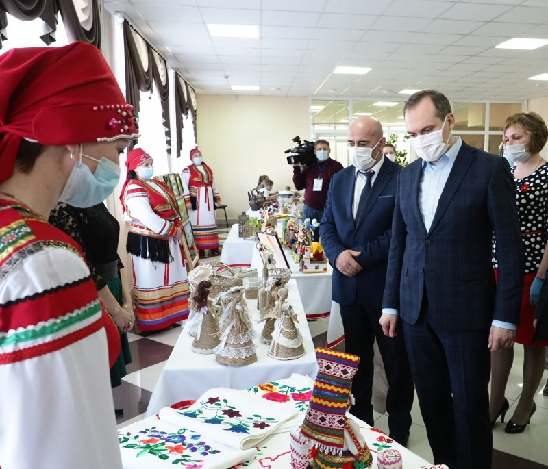 Артём Здунов посетил село Ардатово Дубенского района
